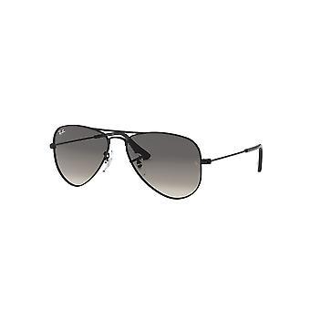 Ray-Ban Junior RJ9506S 220/11 Błyszczące czarne/szare okulary gradientowe
