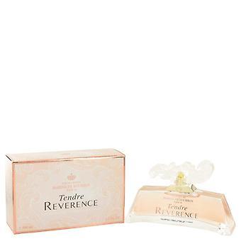 Tendre Reverence Eau De Parfum Spray By Marina De Bourbon 3.4 oz Eau De Parfum Spray