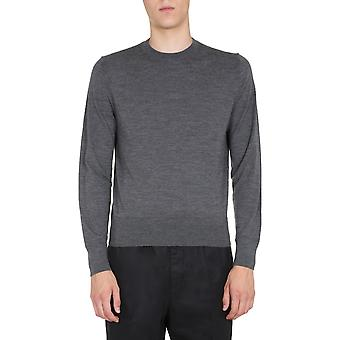 Tom Ford Bvm94tfk110k06 Men's Grey Wool Sweater