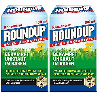 Sparset: 2 x ROUNDUP® Lawn Weed-Free, 100 ml