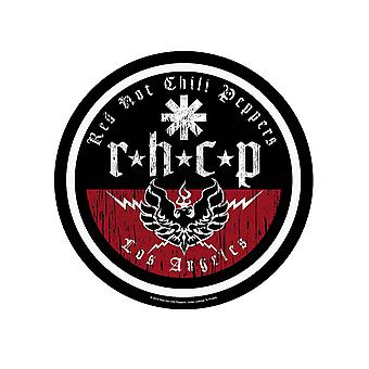 Red Hot Chili Peppers Patch L.A. Biker Band Logo new Official Circular 29 cm