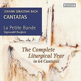 Bach* J.S. / La Petite Bande / Kuijken - Cantatas varten Comeplete Liturgical Vuosi [CD] USA tuonti