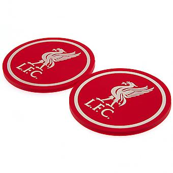 Liverpool FC Coaster Set (Pack Of 2)