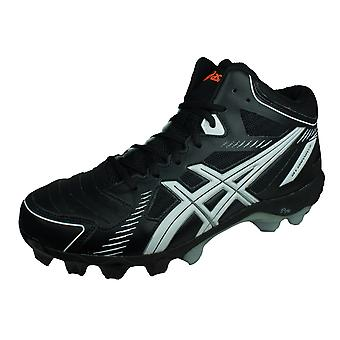 Asics Gel Crossover 5 Turf Korfball Trainers / Shoes - Black & White