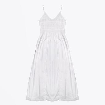Dream  - Embroidered Maxi Dress - White