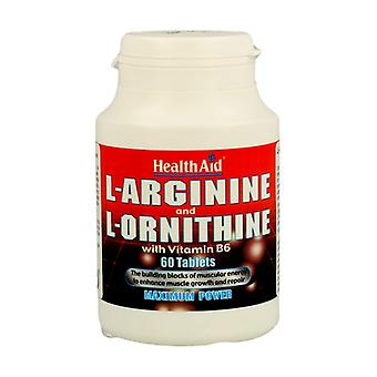 L-Arginine and L-Ornitine 60 tablets