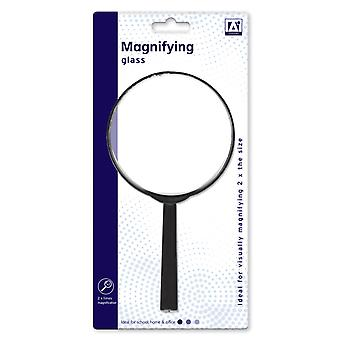 Large 2x Magnification Magnifying Glass Lens Optical Modelling