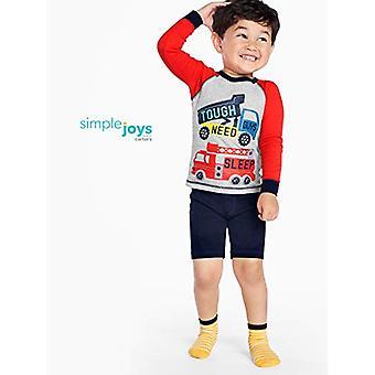 Simple Joys by Carter's Baby Boys' Toddler 6-Piece Snug Fit Cotton Pajama Set...