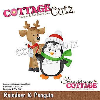 Scrapping Cottage Reindeer & Penguin