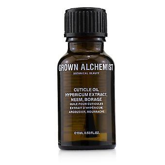 Extrato de hipericum de óleo cutícula, neem & borage 238598 15ml/0.5oz