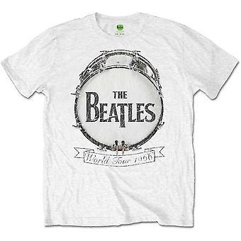 The Beatles World Tour 1966 Officielle Tee T-shirt Herre Unisex