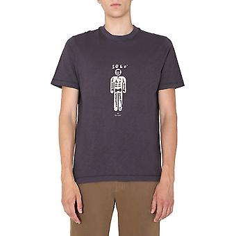 Ps Door Paul Smith M2r226tep213478 Men's Grey Cotton T-shirt