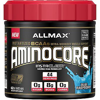 ALLMAX Nutrition, AMINOCORE, Instantized BCAAs Intra-Workout Muscle Support, Blu