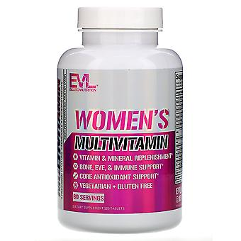 EVLution Nutrition, Women's Multivitamin, 120 Tablets