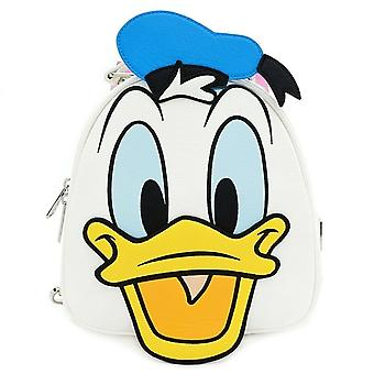 Loungefly Disney Donald And Daisy Double Sided Faux Leather Mini Backpack