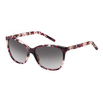 Sunglasses Women's Cat-Eye/Wayfarer Havana Pink/Grey