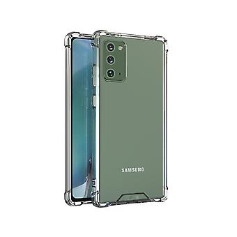 Samsung Note 20 Case Transparent - Anti Shock