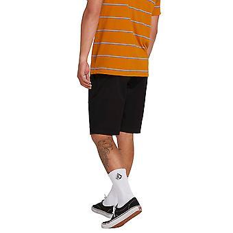 Volcom Men's Frickin Modern Stretch Chino Short, Black 32