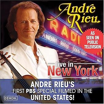 Andre Rieu - Andre Rieu: Live in New York [CD] USA import
