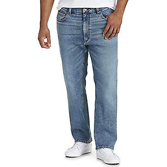 Essentials Men's Big & Tall Straight-fit Stretch Jean se potrivesc de DXL, Ligh ...