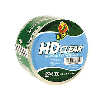 Shurtape Duck Tape Packaging Heavy-Duty 50mm x 25m Clear SHU222181