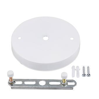Hvidt jern loft lys plader Belysning Tilbehør 12cm