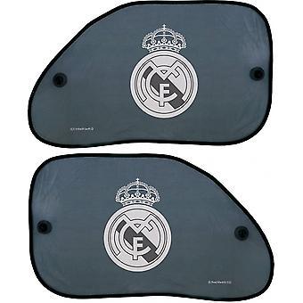 zonneschermen Real Madrid zijraam 38 x 65 cm 2 stuks