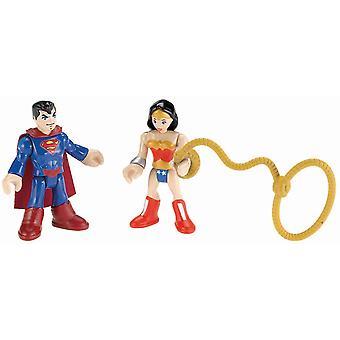 Imaginext DC Super Friends Figures Superman And Wonder Woman