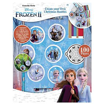 Disney Frozen 2 Create Your Own Christmas Baubles Creative Accessory Kit