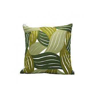 وسادة ليف متعددة الأخضر 45x45