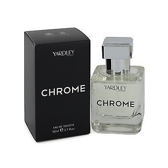 Yardley Chrome Eau de Toilette Spray 50ml