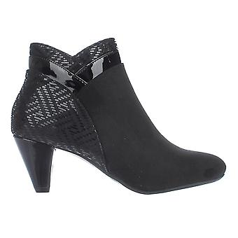 Karen Scott Womens Cahleb tecido fechado Toe Ankle Boots de moda