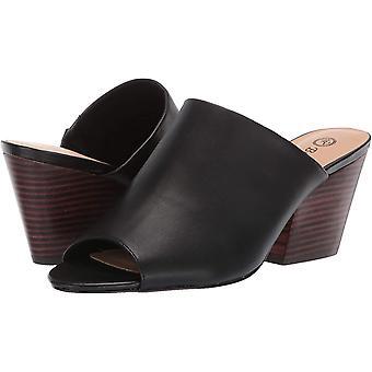 Bella Vita Women's Shoes 50-5192 Leather Peep Toe Mules