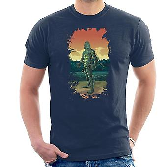 The Creature From The Black Lagoon Full Body Seaweed Men's T-Shirt