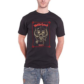 Motorhead T Shirt 35th Anniversary Propaganda Warpig Official Mens Black