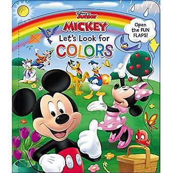 Disney Mickey & Friends Let's Look for Colors (Avoin ovikirja) [Lautakirja]