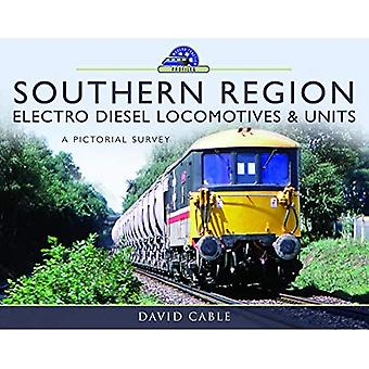 Zuidelijke regio Electro Diesel Locomotieven en Eenheden: Een picturale enquête (moderne tractieprofielen)