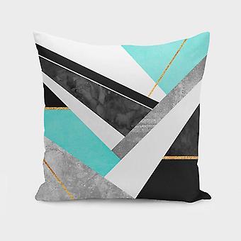 100% Spun Polyester Poplin Fabric - Cuscino/cuscino Copertina