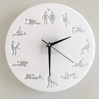 Sex Positions Wall Clock