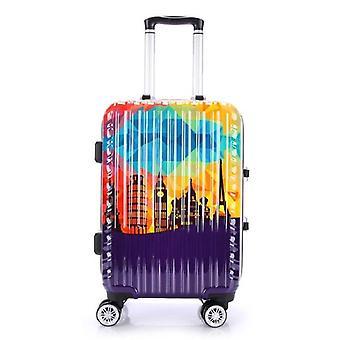 aluminium ramme bagasje pc spinner reise bag / rullende bagasje