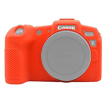 PULUZ Soft Silicone Protective Case for Canon EOS RP(Red)
