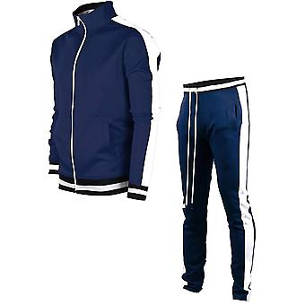 Autumn Winter Sweatshirt+pants Suit Brand Men Jogging Clothes