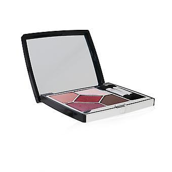 5 Couleurs couture lång slitage krämig pulver ögonskugga palett # 879 rouge trafalgar 257670 7g/0.24oz