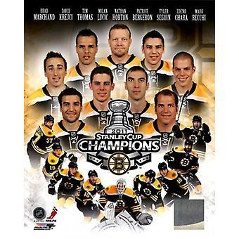 Boston Bruins 2011 NHL Stanley Cup Championship composto de esportes foto