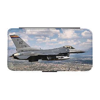 F-16 Fighting Falcon Jaktflygplan iPhone 12 Mini Plånboksfodral
