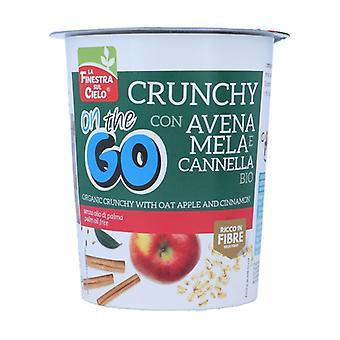 CRUNCHY ON THE GO-CON AVENA, MELA E CANNELLA 80 g