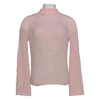 ليزا رينا جمع المرأة & apos سترة طويلة الأكمام السلحفاة الوردي A349567