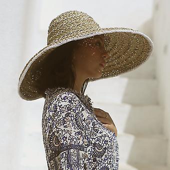 Alb Balinese Pecatu Wide Rotund Straw Hat