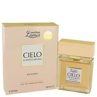 Lamis Cielo Classico Donna by Lamis Eau De Parfum Spray Deluxe Limited Edition 3.3 oz / 100 ml (Women)