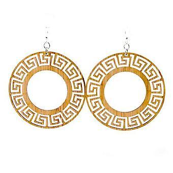 Circle Bamboo Earrings